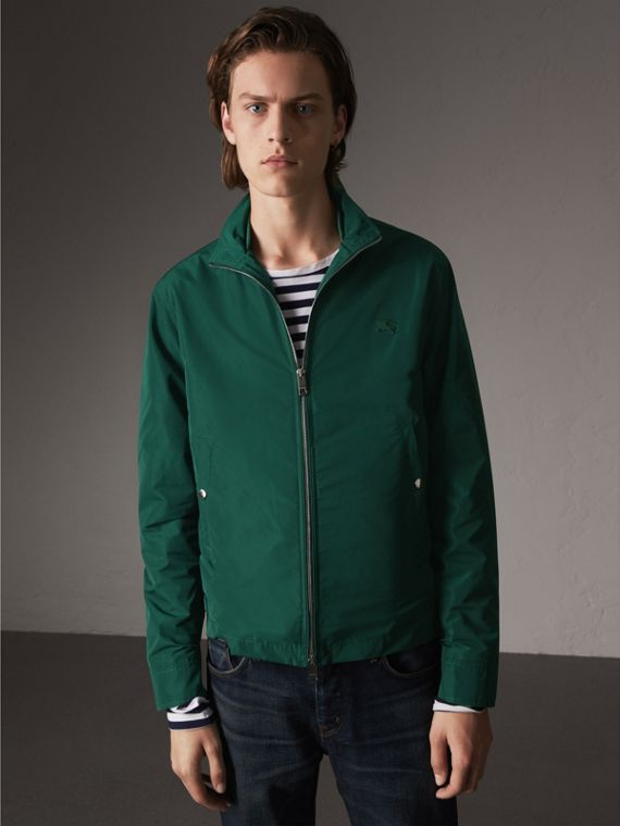 Lightweight Technical Jacket in Racing Green - Men | Burberry