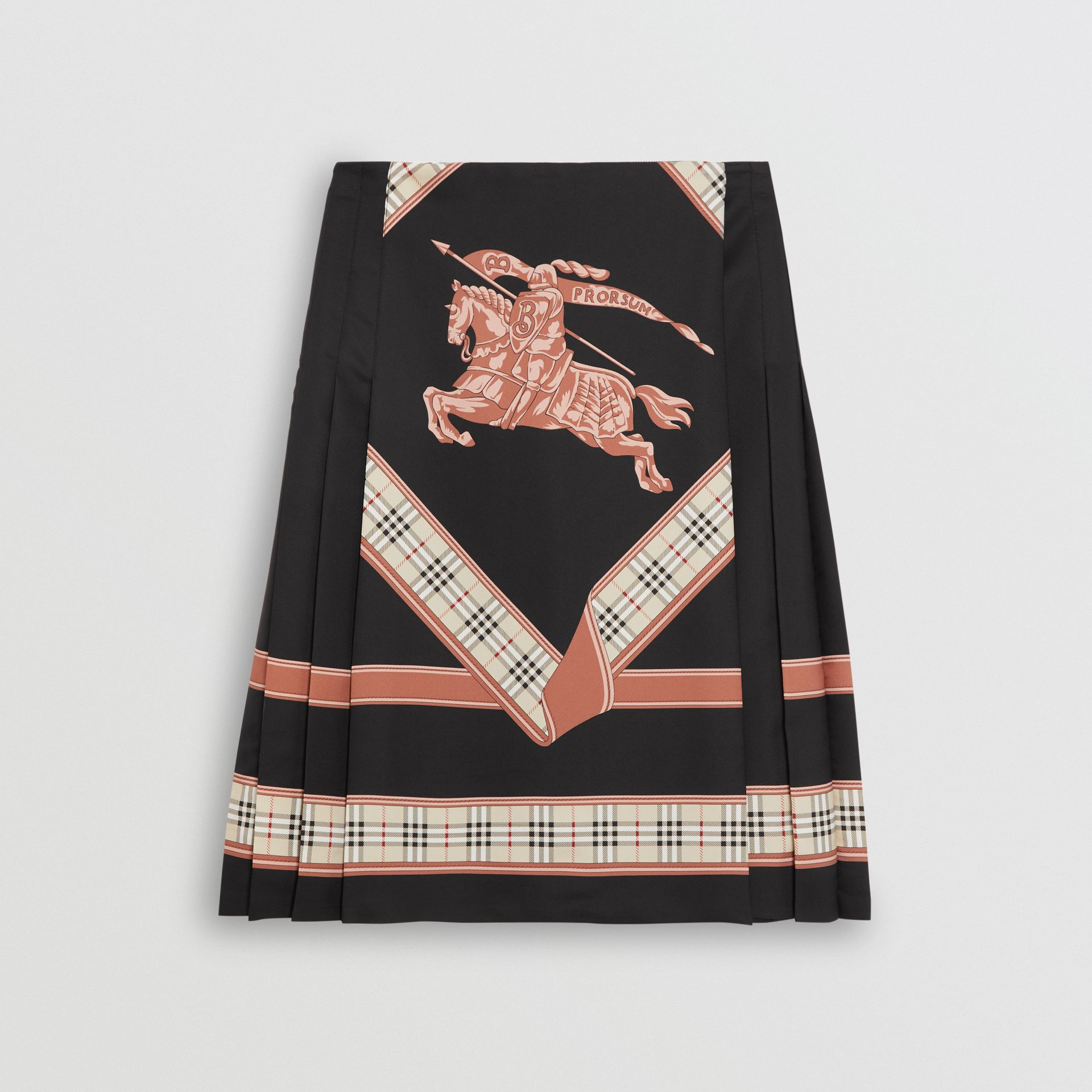 Archive Scarf Print Kilt in Multicolour - Women | Burberry United States - gallery image 3