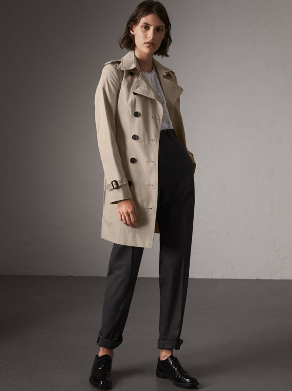 The Sandringham - Trench coat Heritage médio