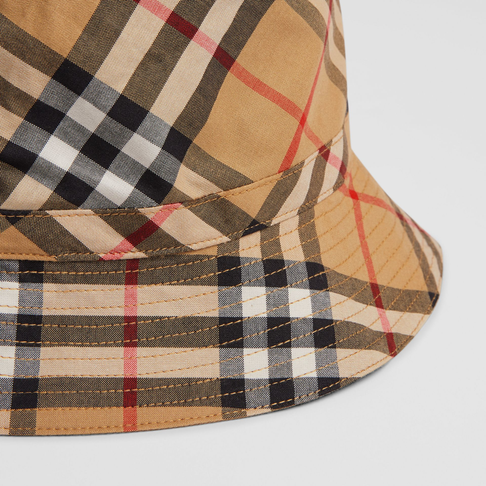 Vintage Check Bucket Hat in Antique Yellow - Children | Burberry - gallery image 1