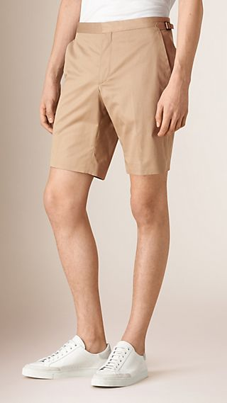 Tailored Cotton Shorts