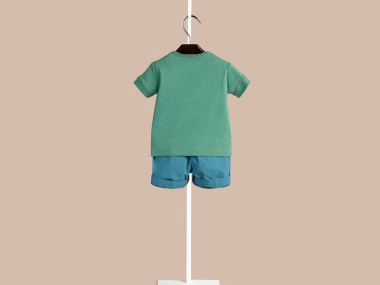 Storm green Check Pocket T-Shirt Storm Green - cell image 1