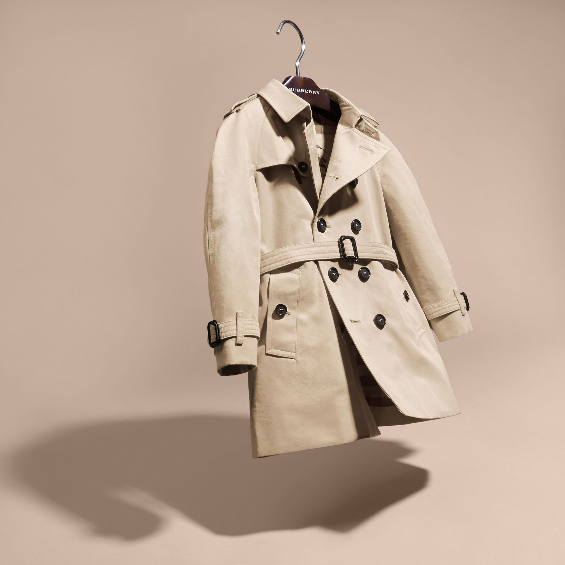 The Wiltshire – Heritage Trench Coat in Stone - gallery image 3