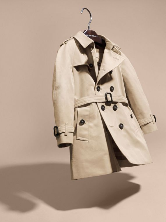 Stone The Wiltshire – Heritage Trench Coat Stone - cell image 2