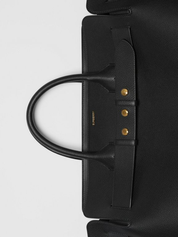 The Large Leather Triple Stud Belt Bag in Black - Women | Burberry - cell image 1