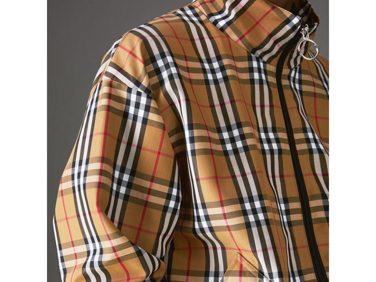 Vintage Check Lightweight Jacket in Antique Yellow - Men | Burberry - cell image 4