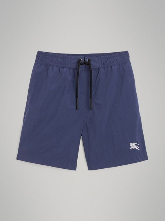 Drawcord Swim Shorts in Indigo