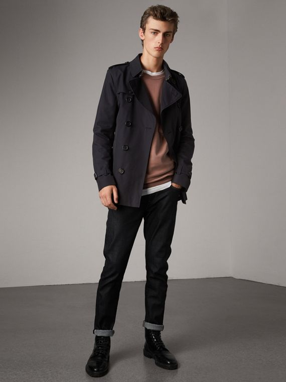 The Kensington - Trench coat corto (Navy)