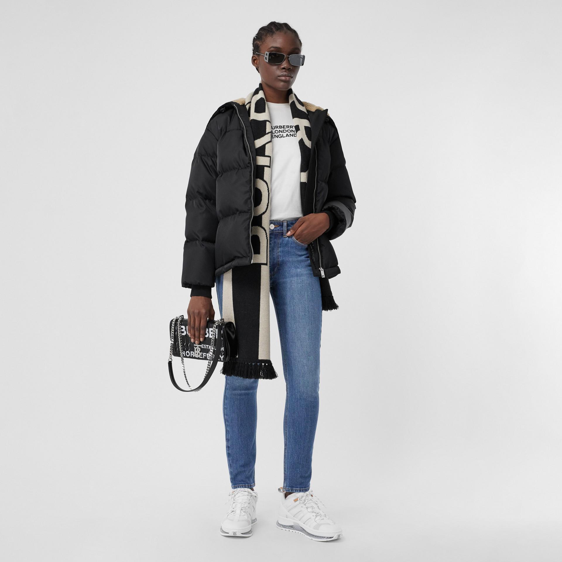 Jean skinny en denim japonais (Bleu Indigo) - Femme | Burberry - photo de la galerie 0