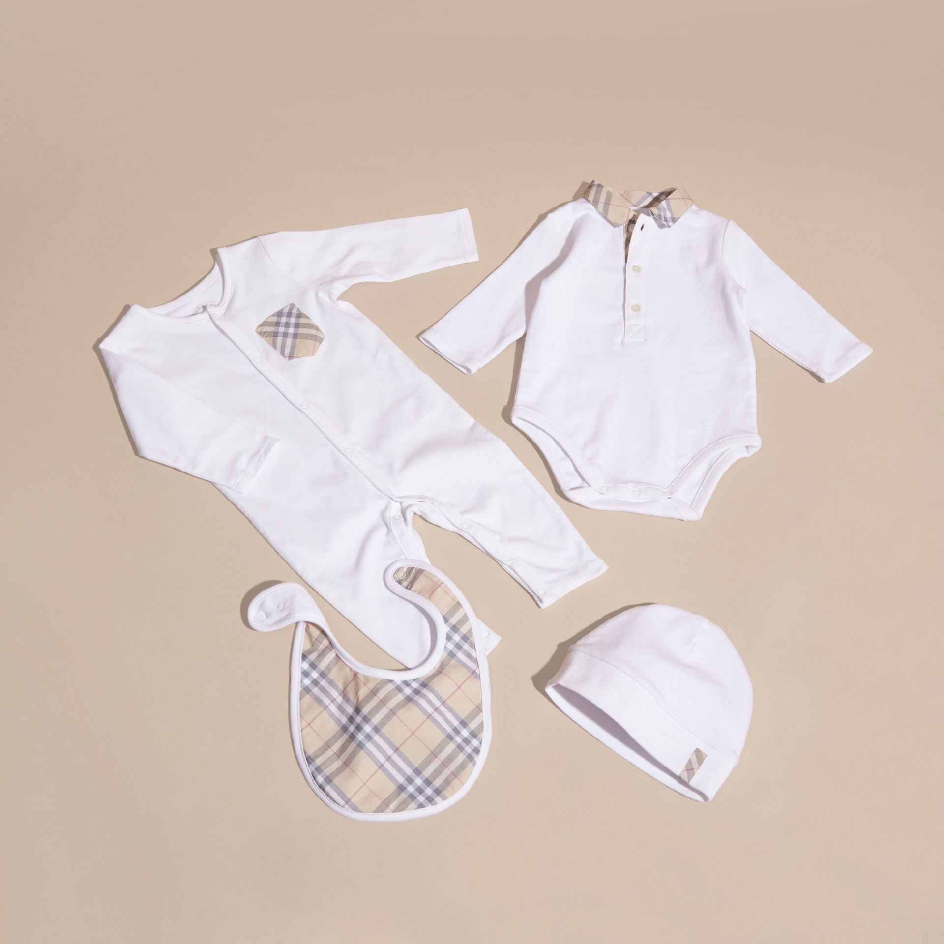 Cotton Six-piece Baby Gift Set - Children | Burberry - gallery image 3