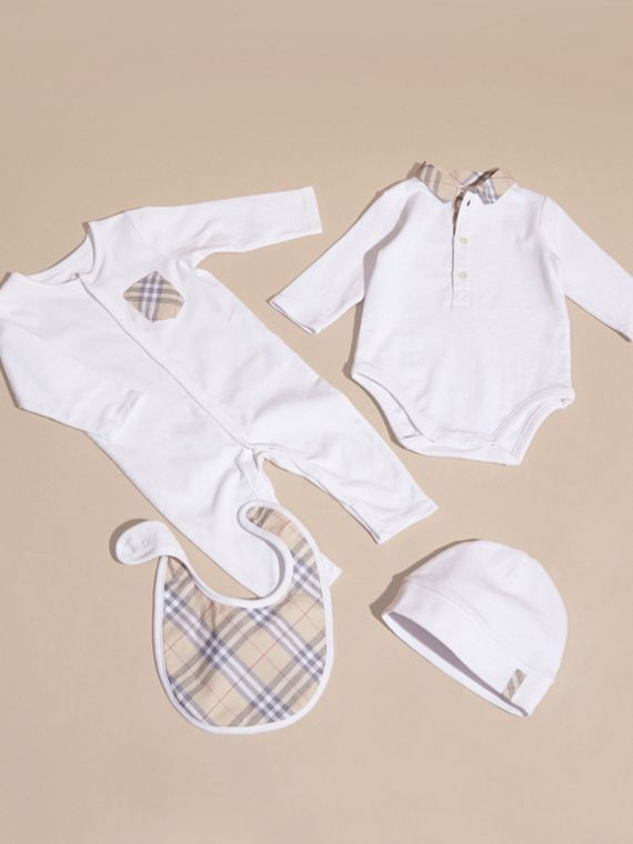Cotton Six-piece Baby Gift Set - Children | Burberry - cell image 2