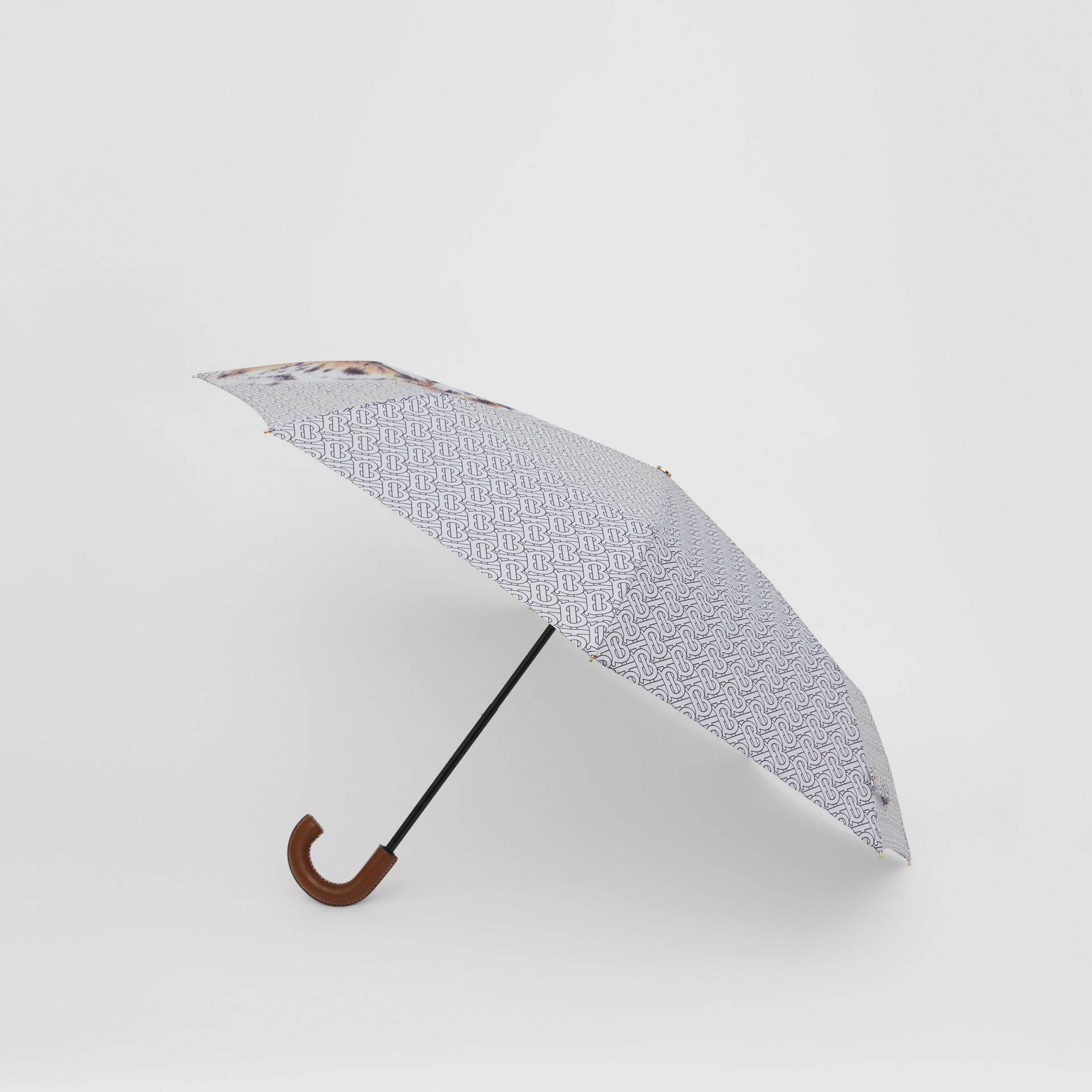 Animalia Print Folding Umbrella - Women | Burberry Australia - gallery image 2