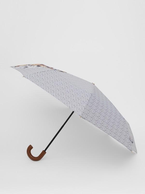 Animalia Print Folding Umbrella - Women | Burberry Australia - cell image 2