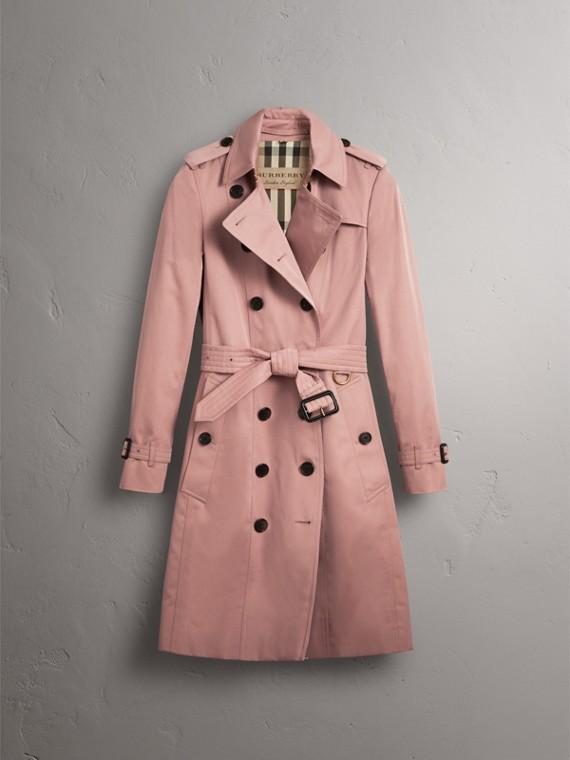 Cotton Gabardine Trench Coat - Women | Burberry - cell image 2