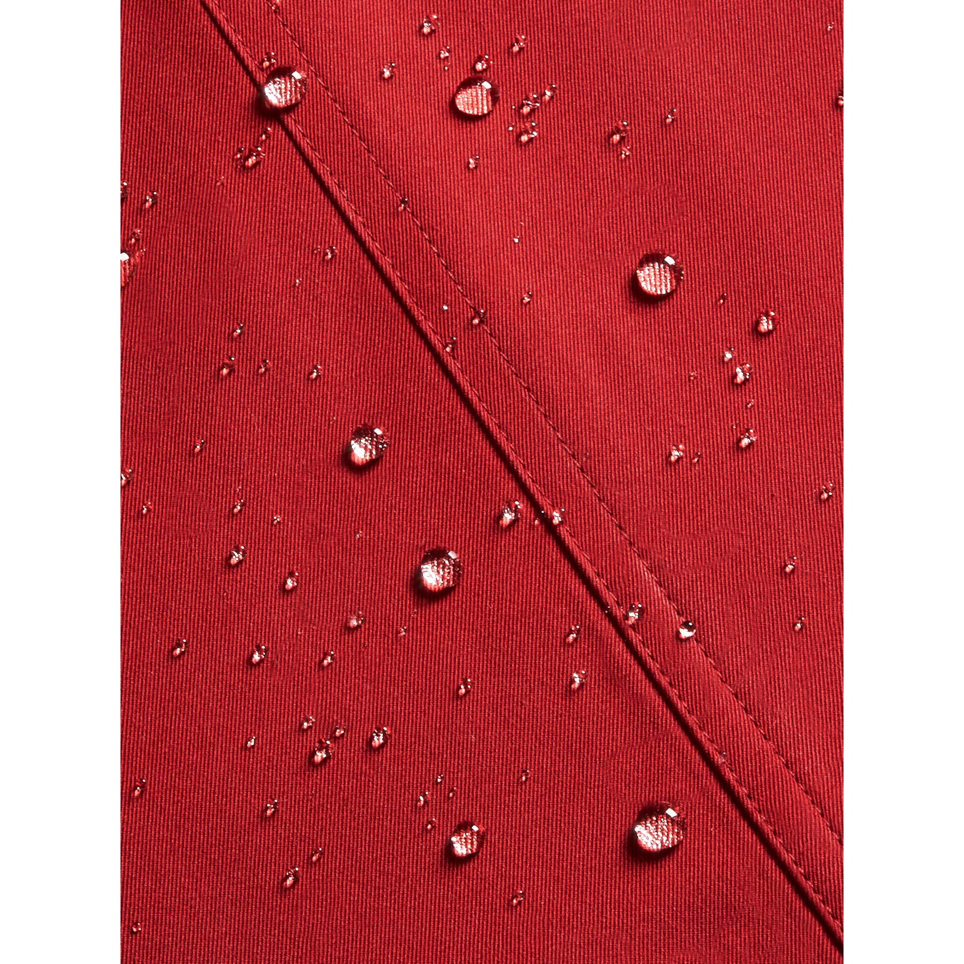 The Sandringham Trench Coat in Parade Red | Burberry - gallery image 5