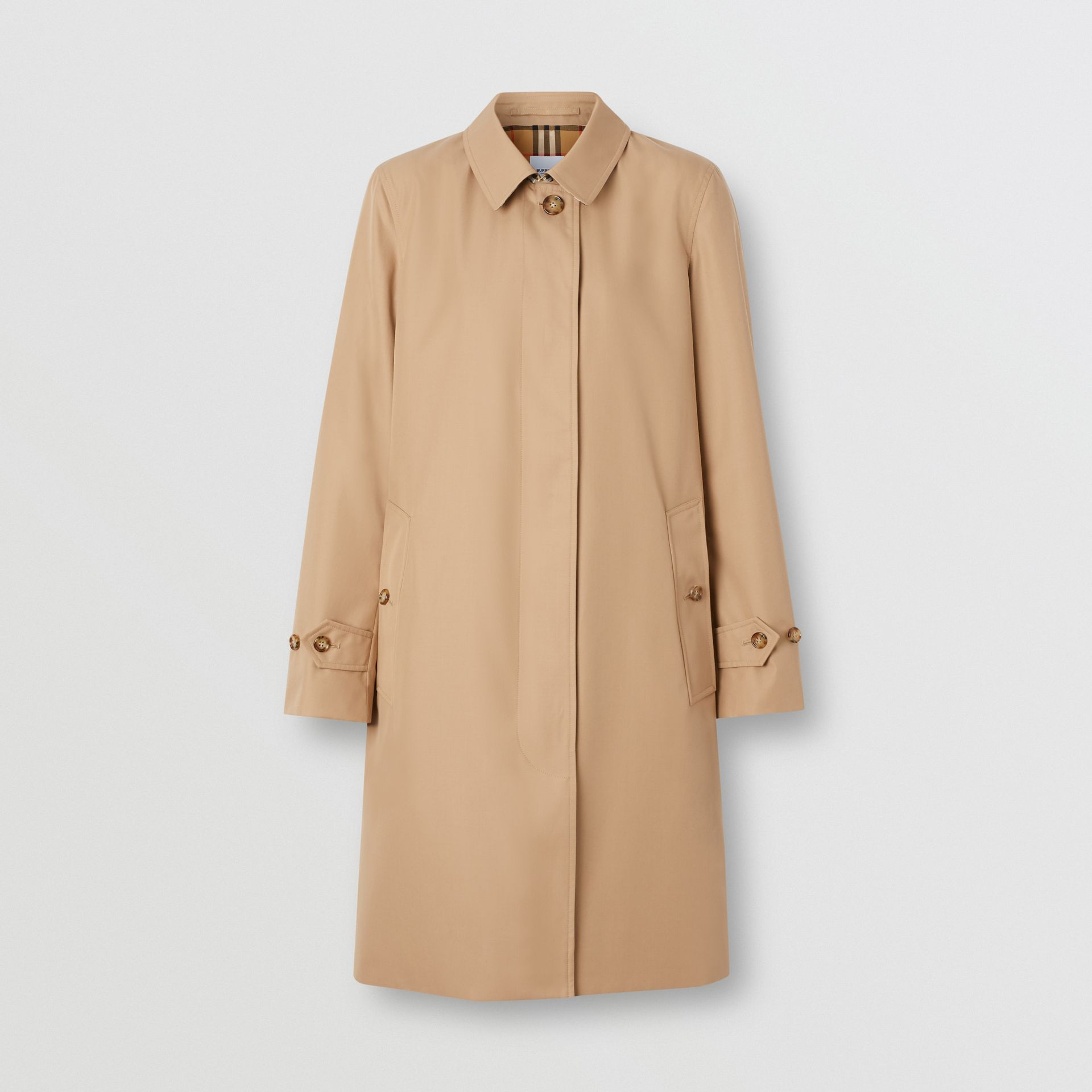 The Pimlico Car Coat in Biscuit - Women | Burberry - gallery image 3