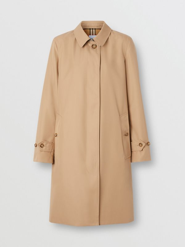 The Pimlico Heritage Car Coat in Biscuit - Women | Burberry - cell image 3