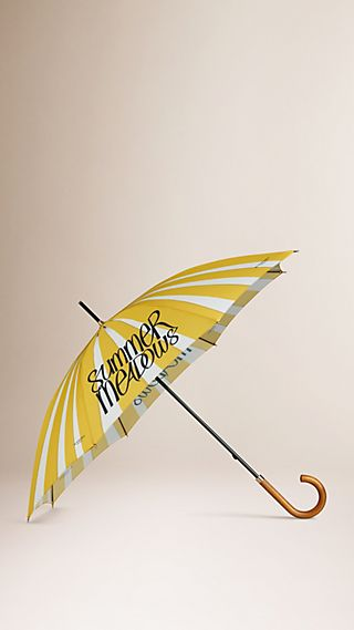 Book Cover Print Walking Umbrella