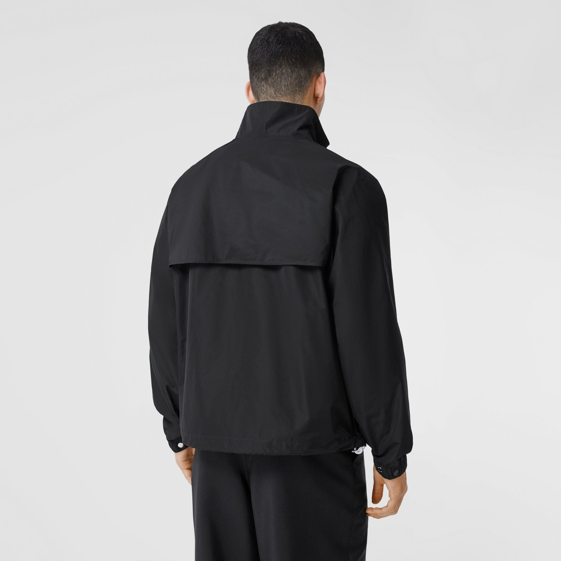 Globe Graphic Shape-memory Taffeta Jacket in Black - Men | Burberry Hong Kong S.A.R - gallery image 2