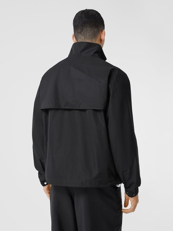 Globe Graphic Shape-memory Taffeta Jacket in Black - Men | Burberry Hong Kong S.A.R - cell image 2