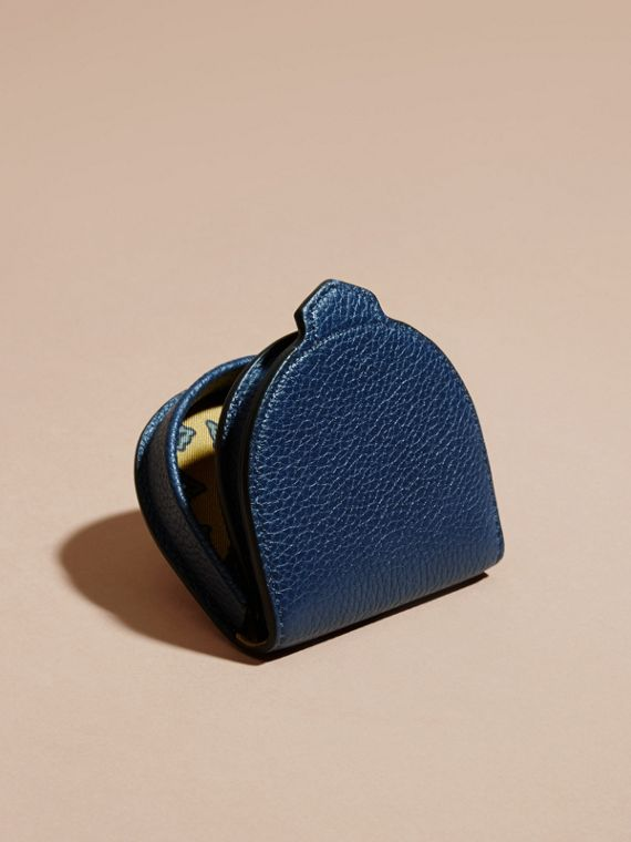 Bright navy Grainy Leather Coin Case Bright Navy - cell image 3