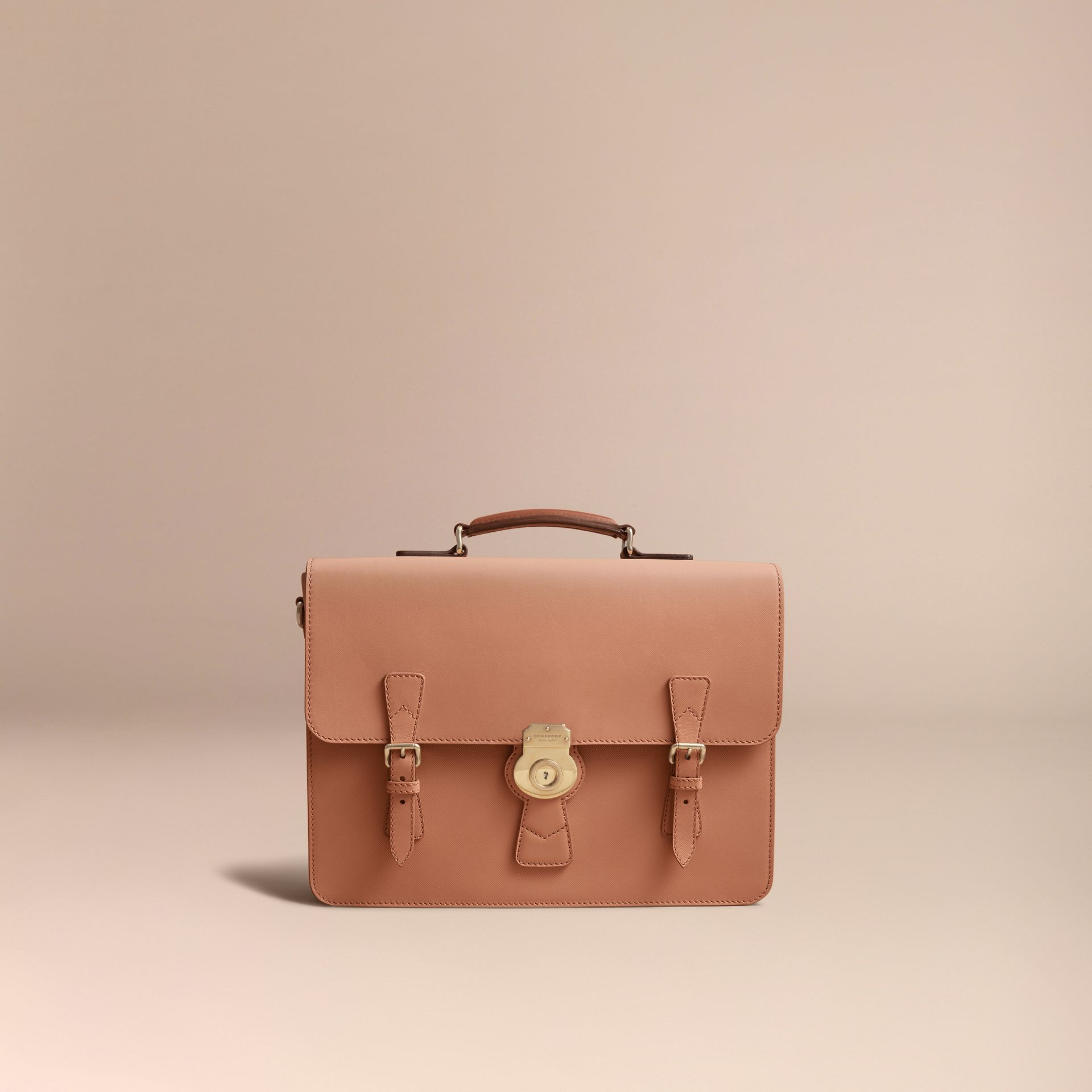 The Medium DK88 Satchel in Pale Clementine - Men | Burberry - gallery image 6