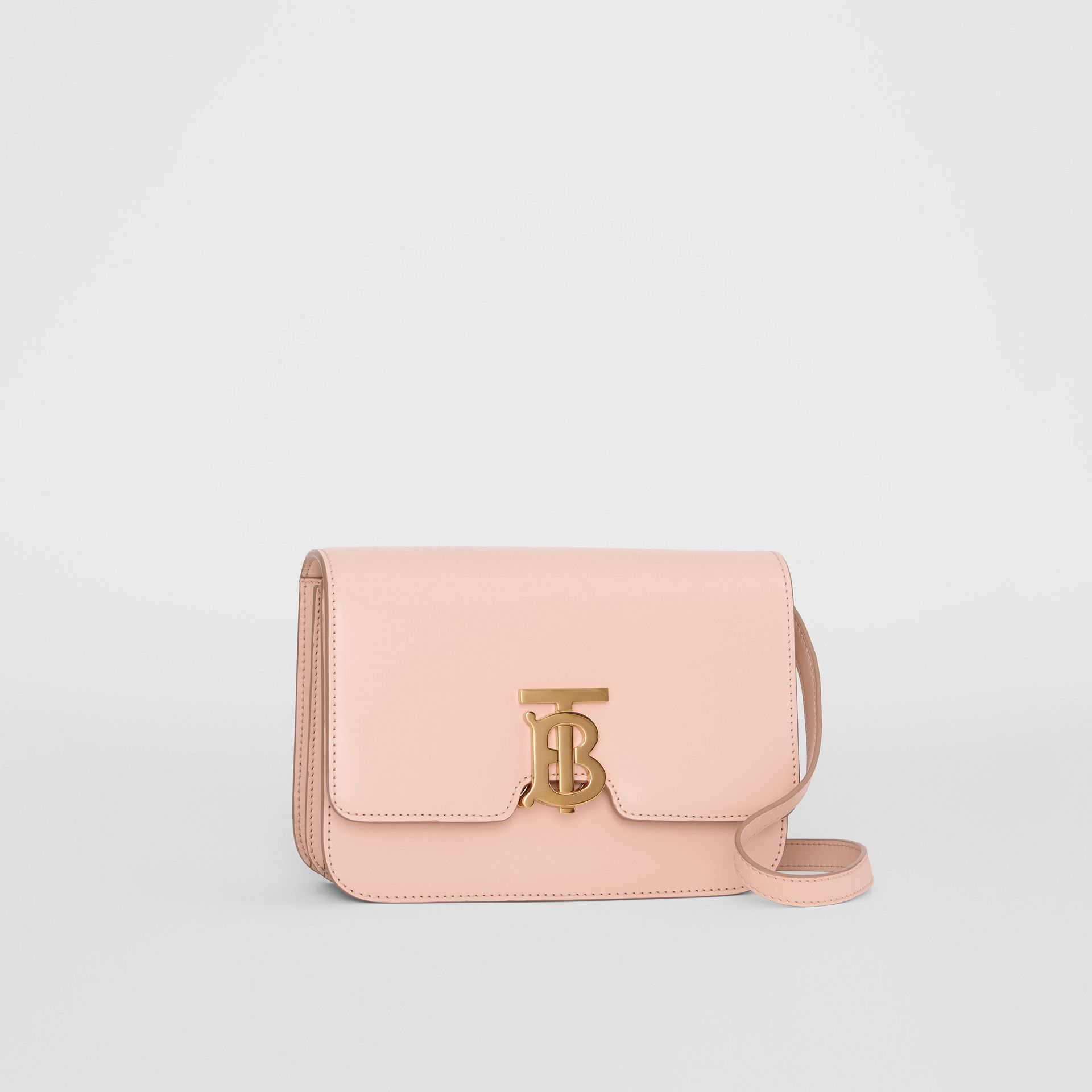 Small Leather TB Bag in Rose Beige - Women | Burberry - gallery image 6