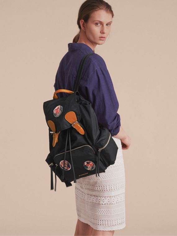 The Large Rucksack in Pallas Heads Appliqué - cell image 2