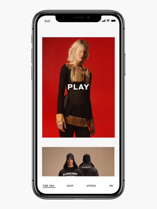 The Burberry App | Burberry