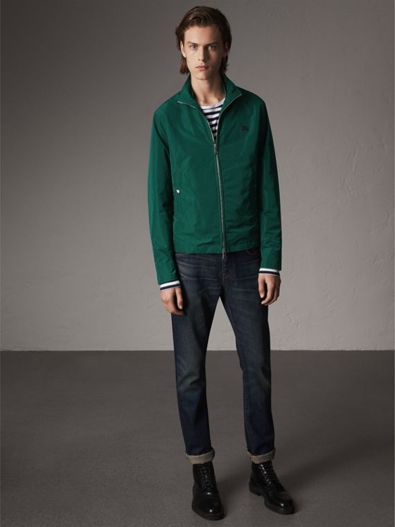 Lightweight Technical Jacket in Racing Green - Men | Burberry - cell image 2