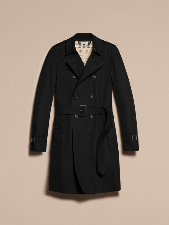 Nero The Chelsea - Trench coat Heritage lungo Nero - cell image 3