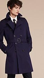 Trench-coat en gabardine de coton The Chelsea