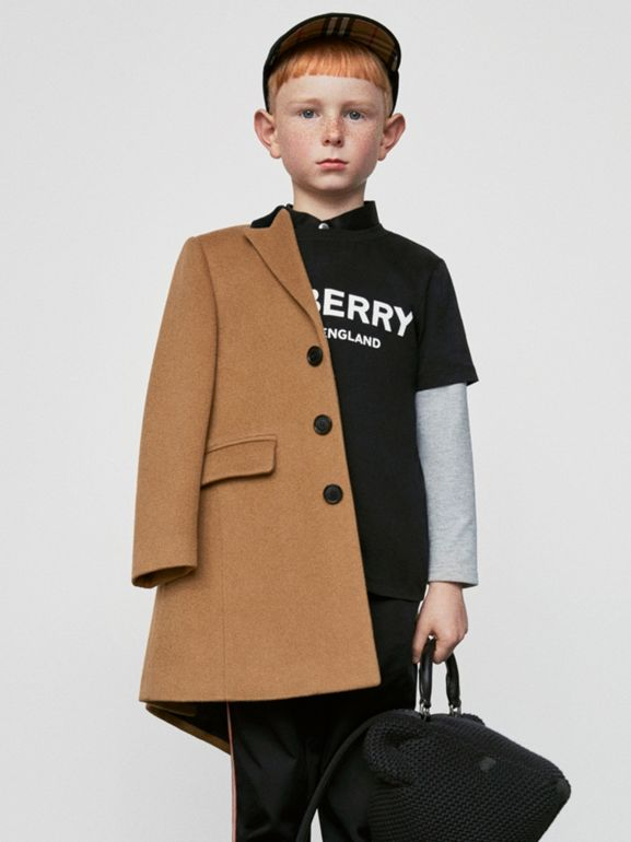 Футболка с логотипом Burberry (Черный) | Burberry - cell image 1