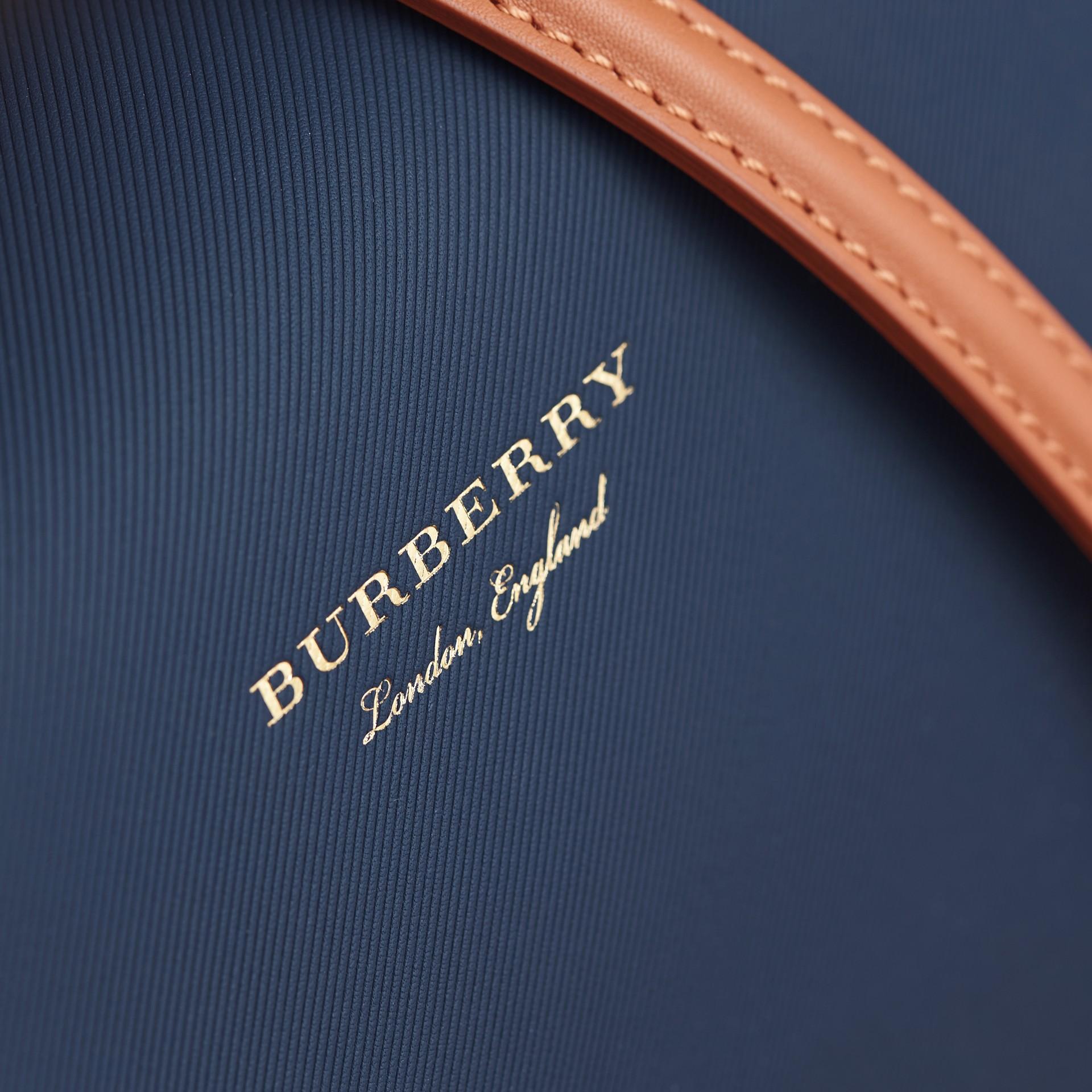 The Medium DK88 Top Handle Bag Ink Blue - gallery image 2
