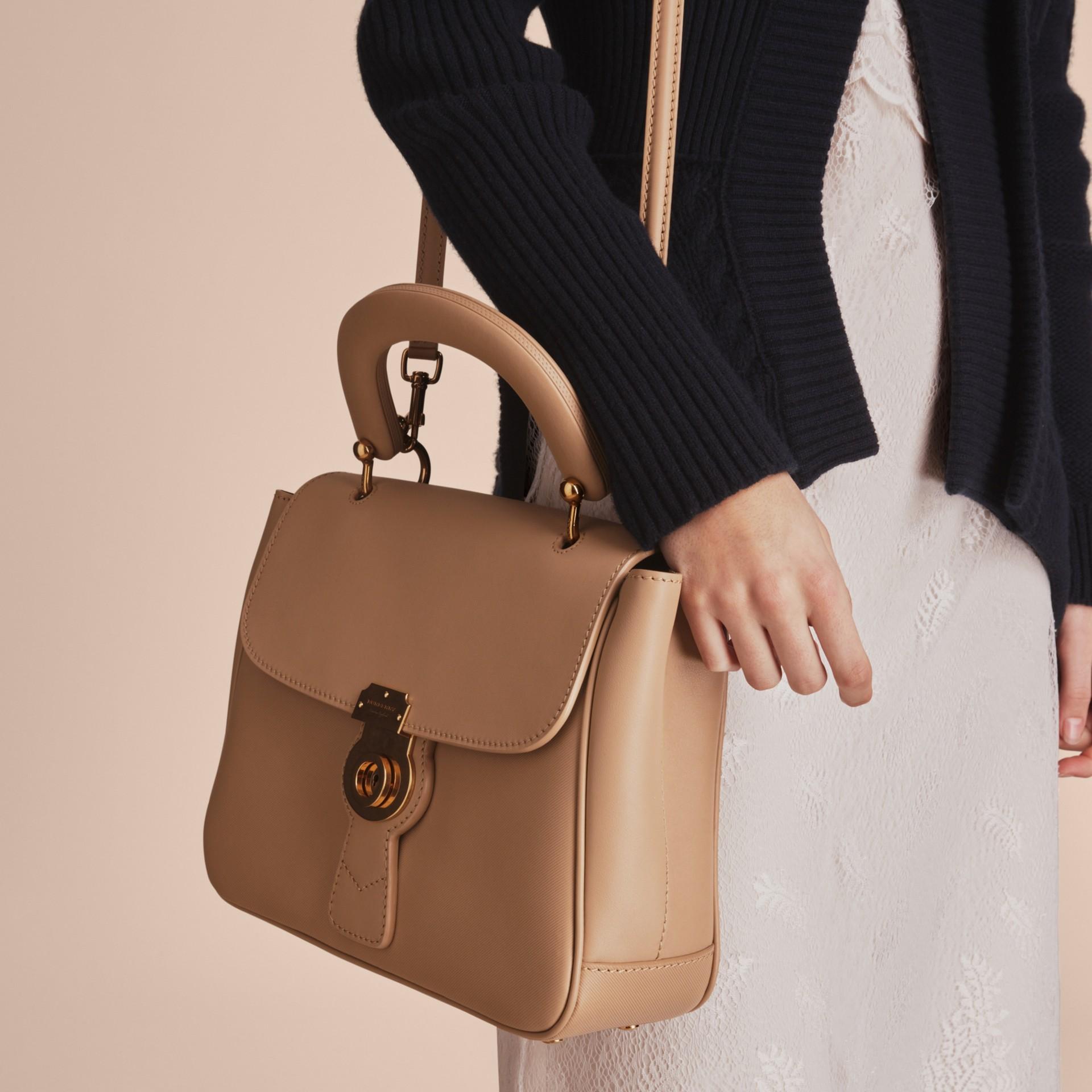 The Medium DK88 Top Handle Bag Honey - gallery image 4