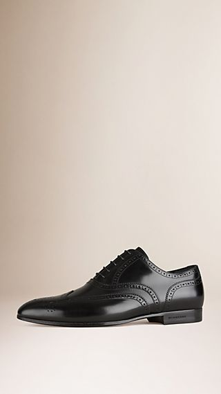 Brogue classiche in pelle