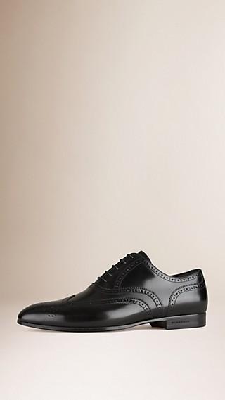 Chaussures Richelieu classiques en cuir