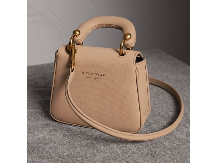 The Mini DK88 Top Handle Bag in Honey - Women | Burberry - cell image 4