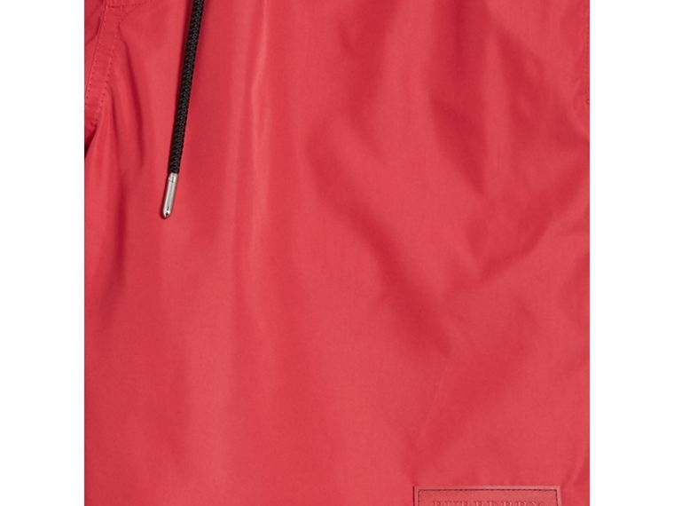 Drawcord Swim Shorts in Parade Red - Men | Burberry Australia - cell image 1