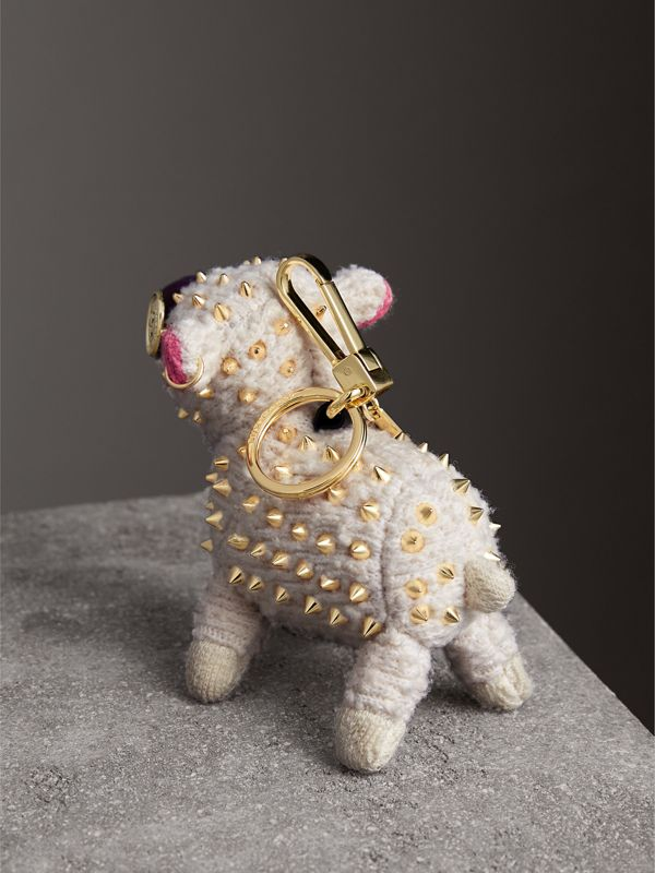 Wendy The Sheep Cashmere Charm in White | Burberry - cell image 3