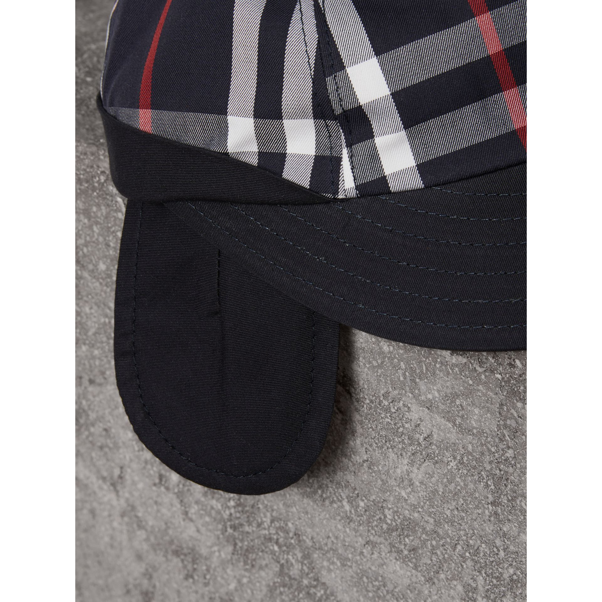Gosha x Burberry Baseball Cap in Navy | Burberry Australia - gallery image 1