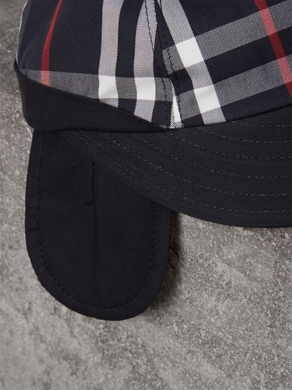 Gosha x Burberry Baseball Cap in Navy | Burberry - cell image 1