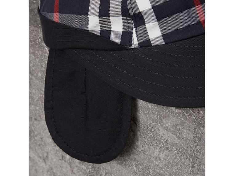 Gosha x Burberry Baseball Cap in Navy | Burberry Australia - cell image 1