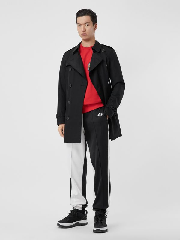 Trench coat corto Wimbledon (Nero) - Uomo | Burberry - cell image 2