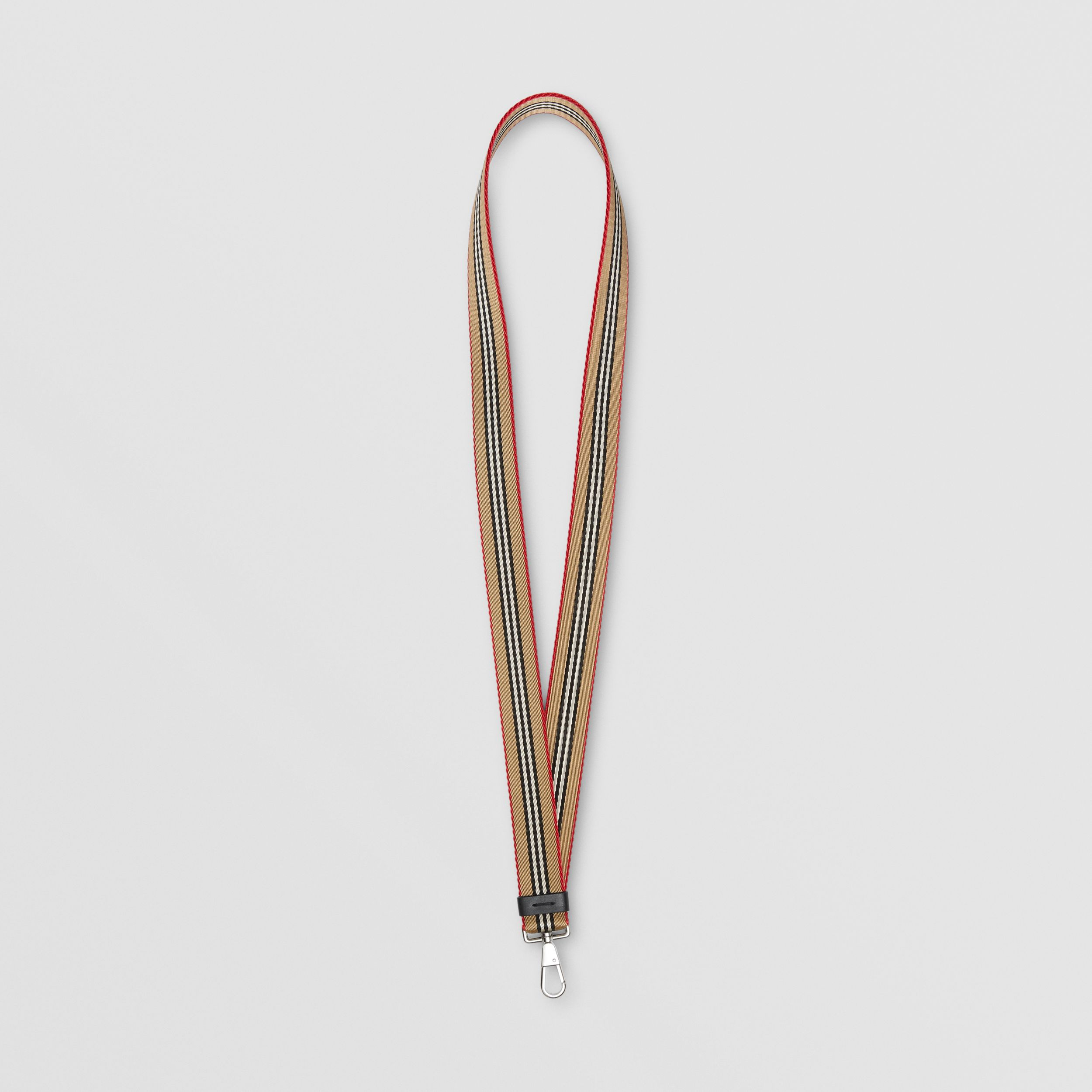 Icon Stripe Lanyard in Archive Beige | Burberry United States - 1