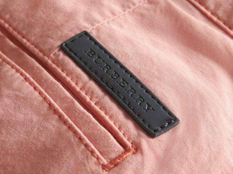 Cotton Poplin Chino Shorts Apricot Pink - cell image 1