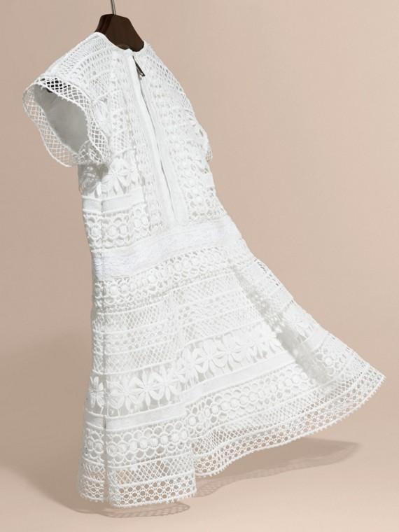 Macramé Lace Dropped-waist Dress - cell image 3