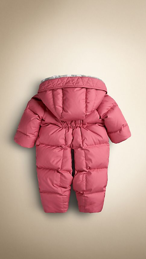 Camelia pink Down-Filled Puffer Suit - Image 2