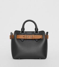 3ca720d41a6 Bolso Belt mini en piel (Negro)