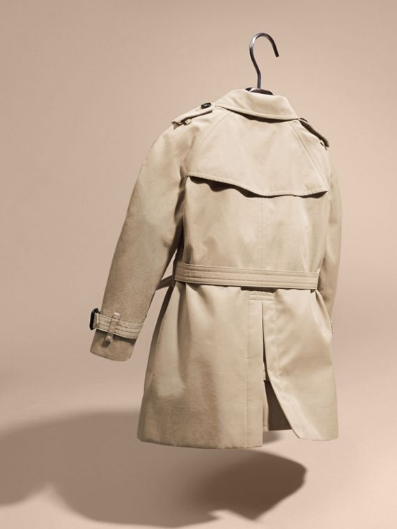 The Wiltshire – Heritage Trench Coat in Stone | Burberry Canada - cell image 3